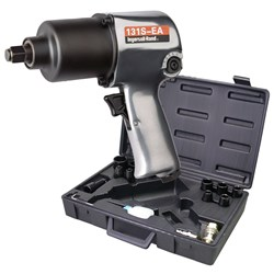 "Ingersoll Rand 131S-EA-KIT: 1/2"" Air Impact Wrench Kit, 450ft-lbs"