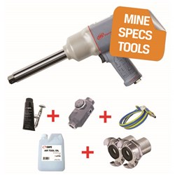 "Ingersoll Rand 2145QIMAX-6-HC - MINE SPEC: 3/4"" Impact Wrench, 6"" Extended Anvil, 1,350ft-lb"