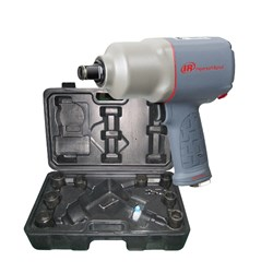 "Ingersoll Rand: 2145QIMAX-KIT    3/4"" Air Impact Wrench Kit,1350 ft-lbs"