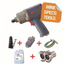 "Ingersoll Rand 2235QTIMAX-HC - MINE SPEC: 1/2"" Air Impact Wrench (Quiet)"
