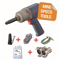 "Ingersoll Rand 2235TIMAX-HC - MINE SPEC: 1/2"" Titanium Air Impact Wrench, 930ft-lb"