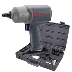 "Ingersoll Rand 2235TIMAX-KIT: 1/2"" Air Impact Wrench Kit with Sockets"