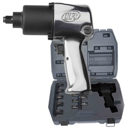 "Ingersoll Rand 231C-AP-KIT: 1/2"" Impact Wrench Kit w/ Sockets, Wrench & Case"