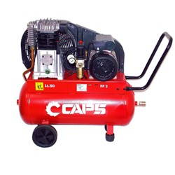 CAPS B3800/50: 3hp Reciprocating Piston Air Compressor 15amp (9 cfm)