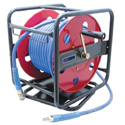 30m Auto Hose Reel, 9.5 x 14.5mm braided hose