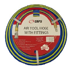 "3/4"" Air Hose x 20 metres with Claw Couplings"