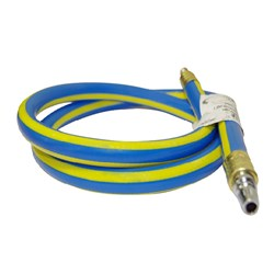 "CAPS 1/4"" Hose Whip with Nitto style plug (1.5m)"