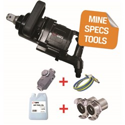 "CAPS C5314-HC - MINE SPEC: 1 1/2"" Air Impact Wrench - 3,600 ft-lbs"