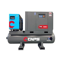5kW CAPS Brumby SuperDry Series Rotary Screw Air Compressor, 23cfm. 10bar