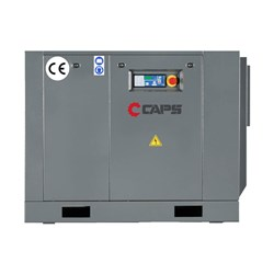 7kW CAPS Base Mounted Rotary Screw Air Compressor, 40cfm, 7bar