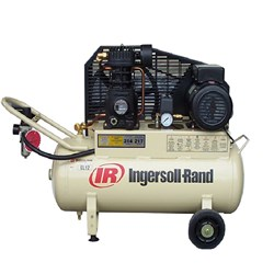 Ingersoll Rand EL12: 230 Volt Reciprocating Piston Air Compressor, 10 amp, 7.7cfm