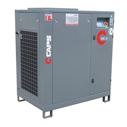22kW CAPS Rotary Screw Air Compressor, 123cfm, 10bar