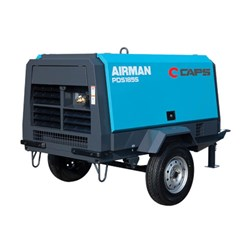 AIRMAN PDS185S-6C2-T: Trailer Mounted Air Compressor 185cfm