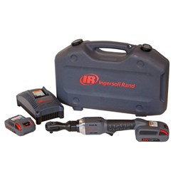 "Ingersoll Rand R3130-K22: 3/8"" 20V Cordless Ratchet Kit, 2 Batteries"