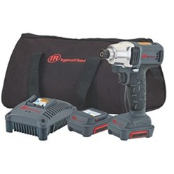 "Ingersoll Rand W1110AN-K2: 1/4"" 12V Cordless Impact Driver Kit, 2 Batteries"