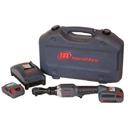 "Ingersoll Rand R3130-K2: 3/8"" 20V Cordless Ratchet Kit with 2 Batteries"