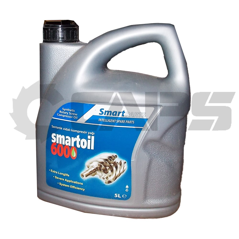 Smart Oil 6000 5 Litres To Suit Rotary Screw Compressors