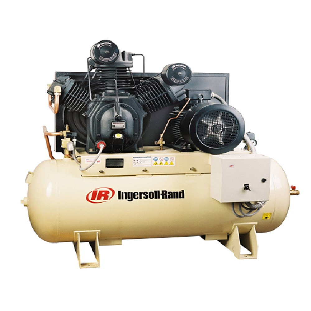 30hp Ingersoll Rand 2 Stage Electric Air Compressor 67cfm