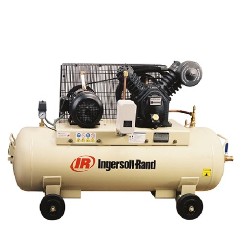 3hp Ingersoll Rand 2-Stage Electrical Air Compressor, 9 8cfm, 8bar