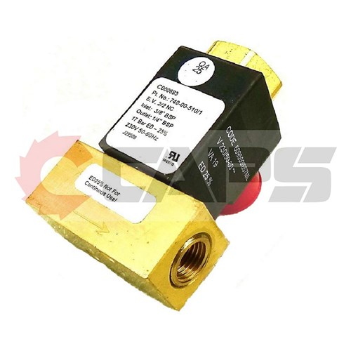 "EDV 3/8"" Inlet 230V - Suits HG151K-HG1250K"