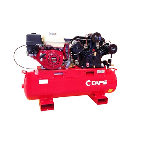 CAPS Petrol Reciprocating Air Compressor With Electric Start 14.7cfm