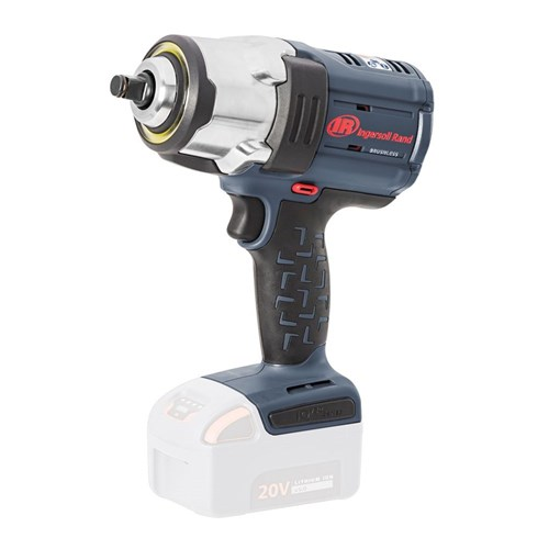 "Ingersoll Rand W7152: 1/2"" 20V Cordless Wrench Skin, 1000ft-lbs"