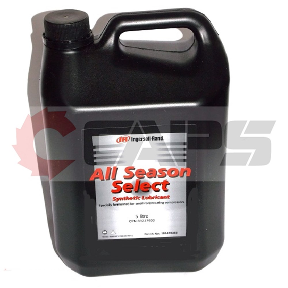 Ingersoll Rand All Seasons Long Life Compressor Oil Caps