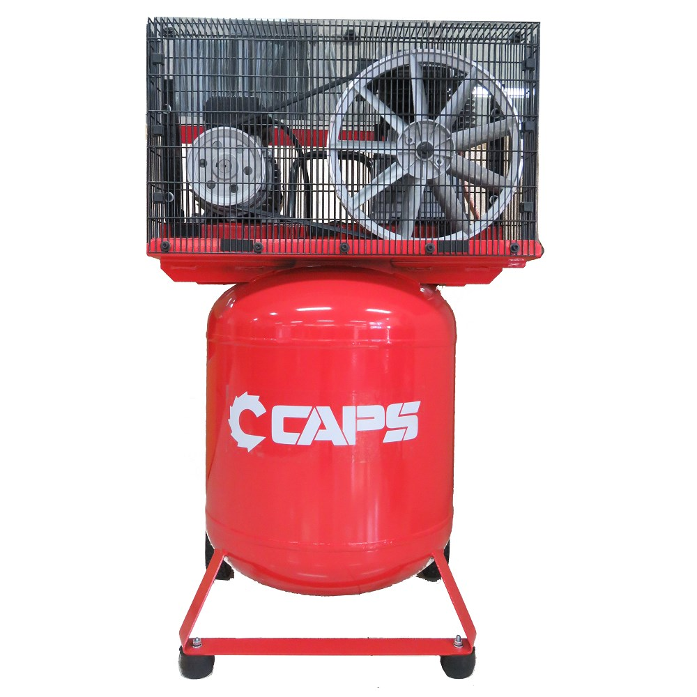 Caps 2 5hp Vertical Piston Air Compressor 10amp 6 Cfm