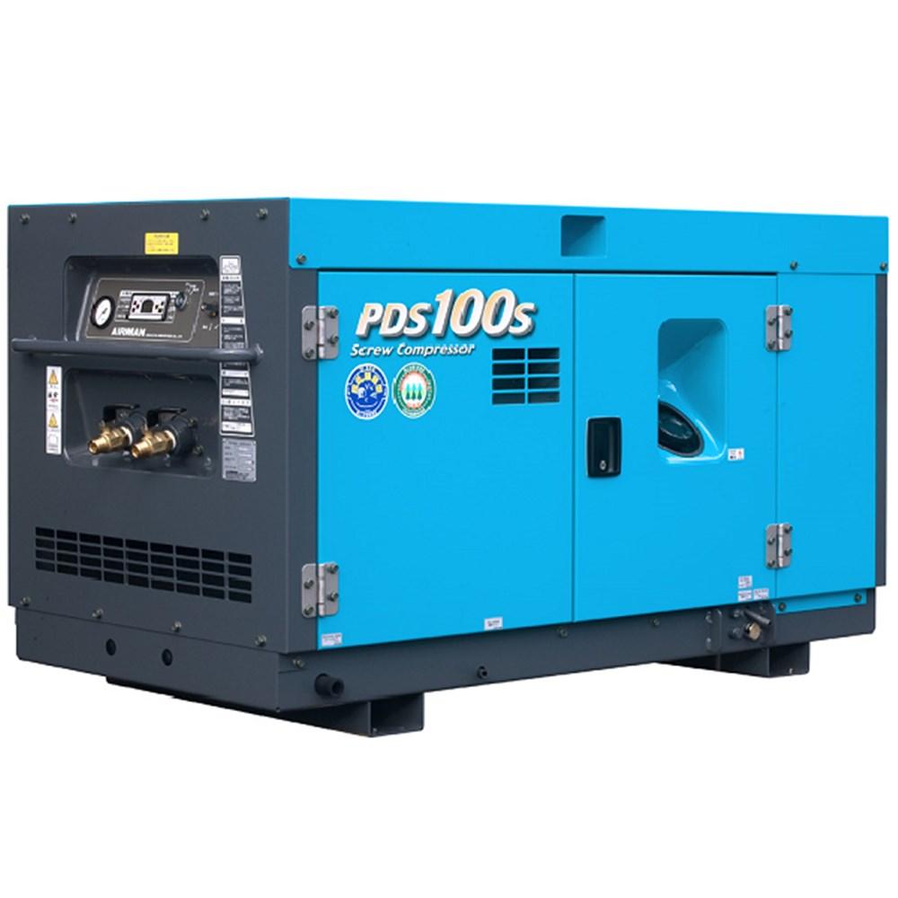 100cfm Airman Portable Diesel Compressor Pds100s 5c1